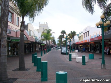 Napier Shopping Area