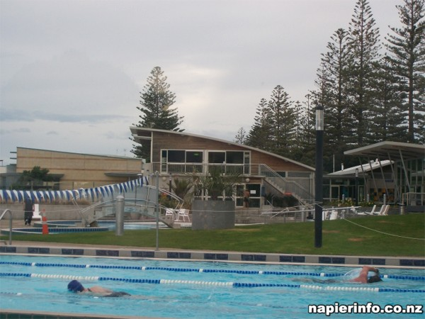 Napier Beachside Pools at Ocean Spa
