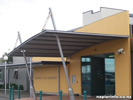 Hawkes Bay Airport in Napier