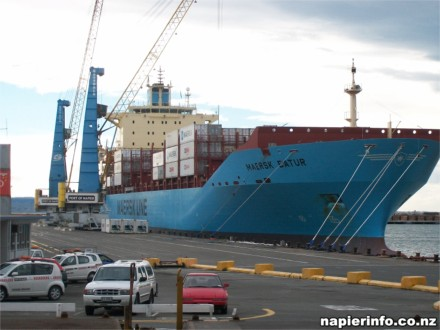 Port of Napier due to receive the last of the emergency feeds.